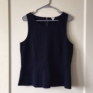 J Crew peplum Top